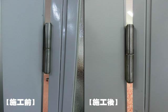 愛知県名古屋市中村区 ドア改修工事店 「スムーズにドアが開くようになって良かったです!」ドア丁番修理工事【株式会社サッシ.NET】